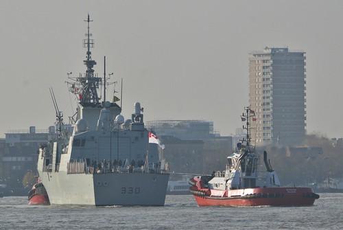 HMCS Halifax (3) @ Limehouse Reach 21-11-18