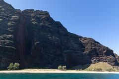 Milolii beach Kauai  Hawaii