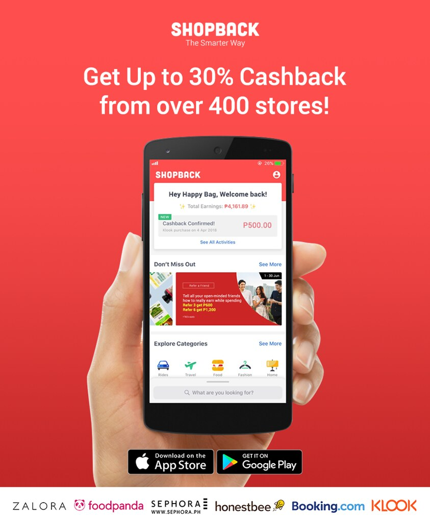 Get a Cash Back When You Shop Online via Shopback
