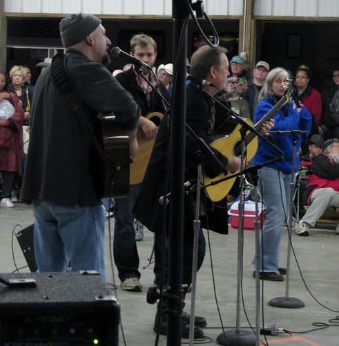2011 Walnut Valley Fest. Pete Huttlinger Benefit
