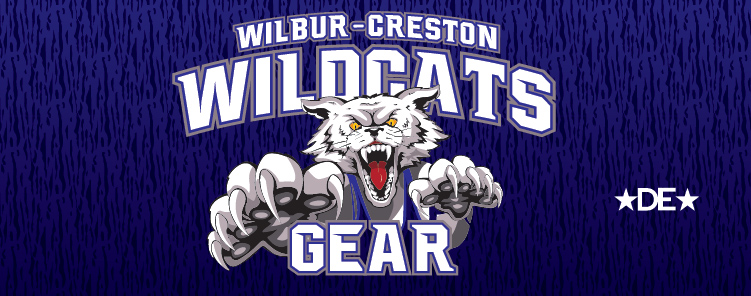 Wilbur-Creston Wildcats Wrestling Gear