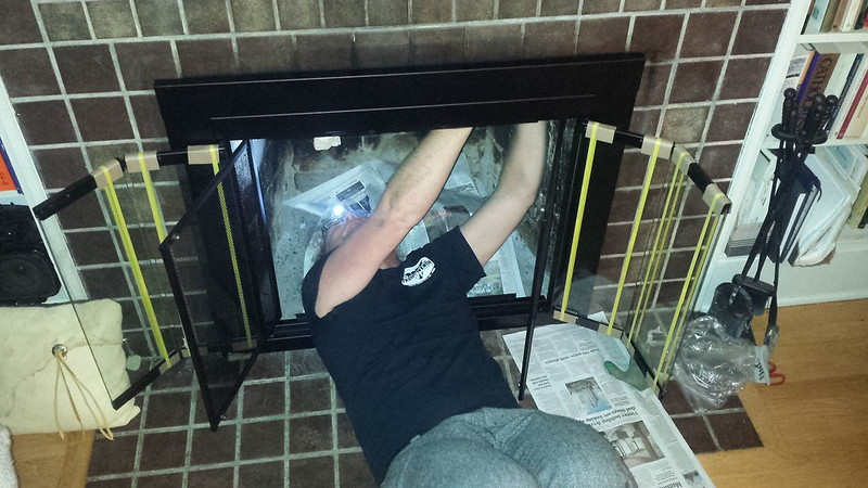 Fireplace installation champion