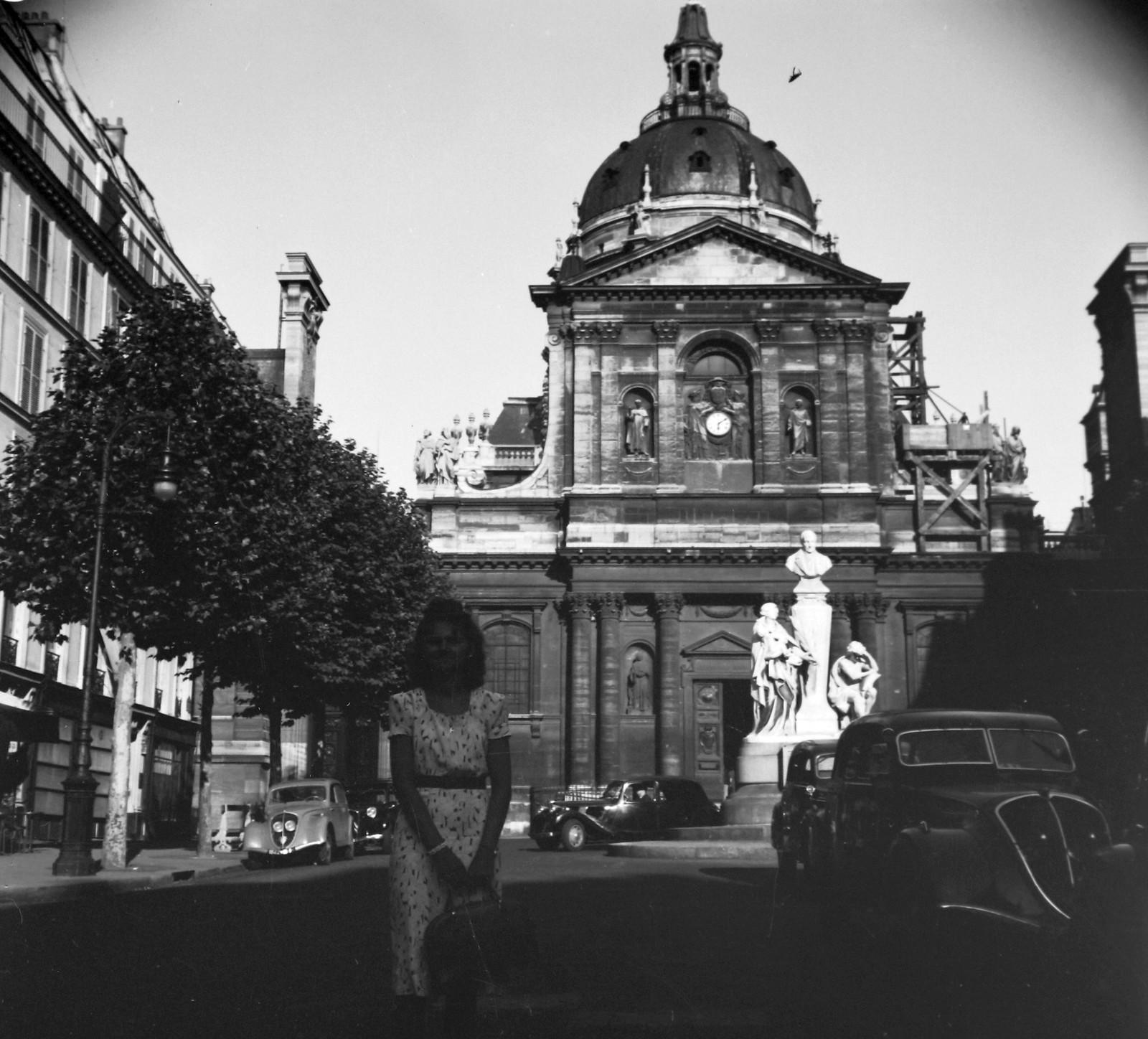1939. Площадь Сорбонны