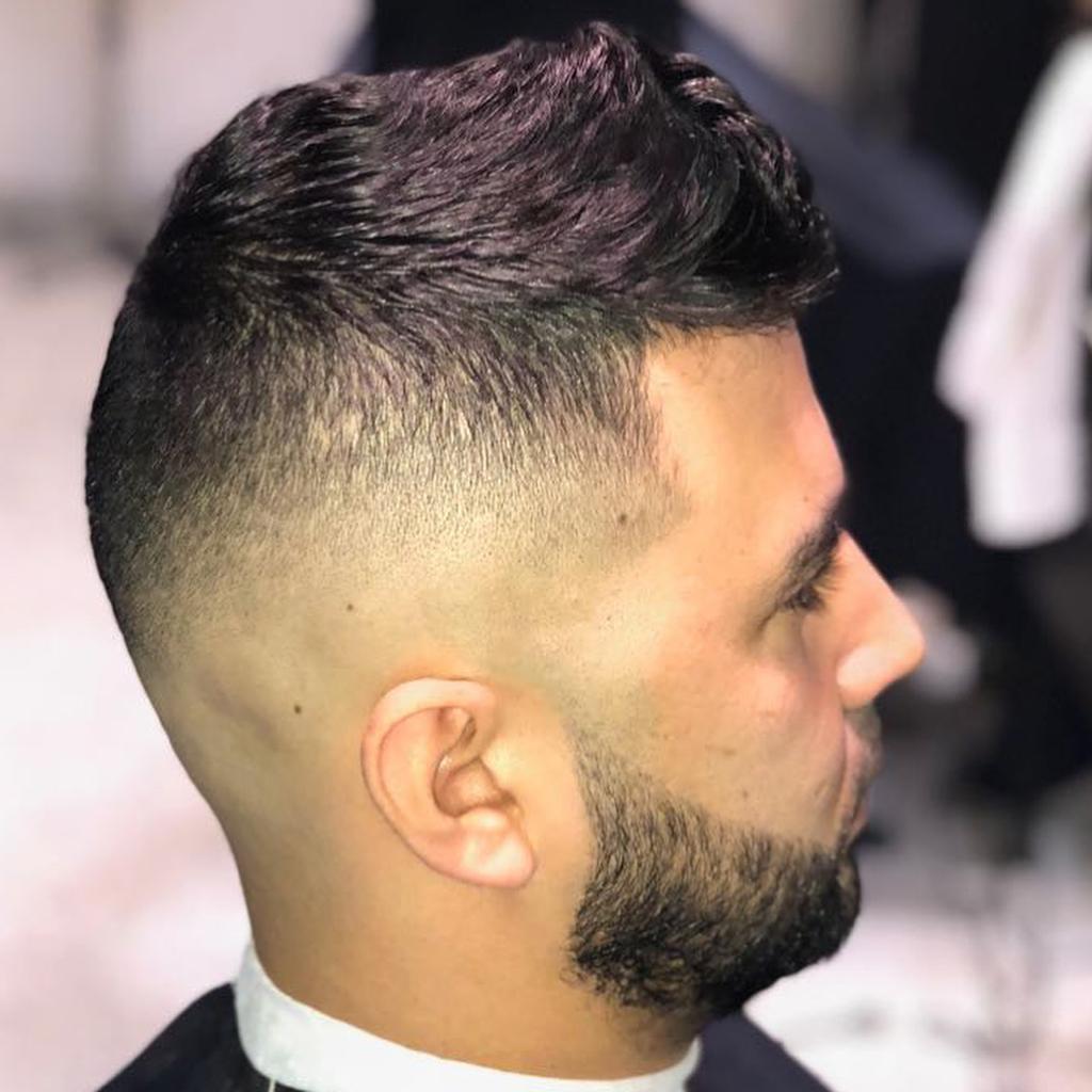 Mohawk fade haircut 2019 For Men's - Mohawk Hair 3