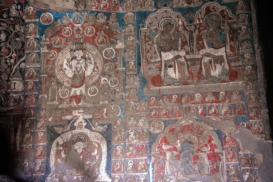 Буддийские скальные храмы Саспол, Ладакх, Индия © Kartzon Dream - авторские туры в Гималаи, тревел фото