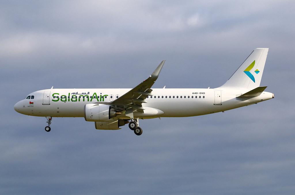 A4O-OVD Airbus A320 Neo Salam Air