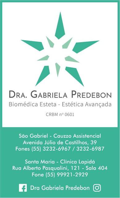 Dra. Gabriela Predebon - Biomédica Esteta - Estética Avançada
