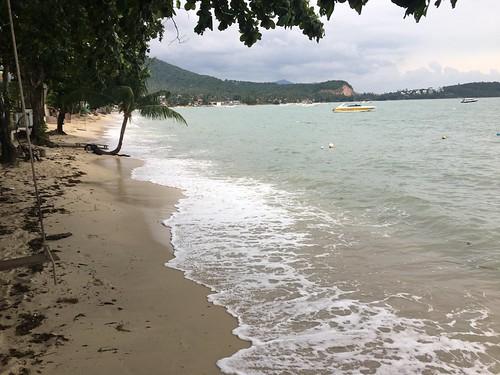 今日のサムイ島 1月3日台風1号パブーク まだ比較的穏やか‐ピークは明日夜から?!バンコクエアウェイズ4日全便運休