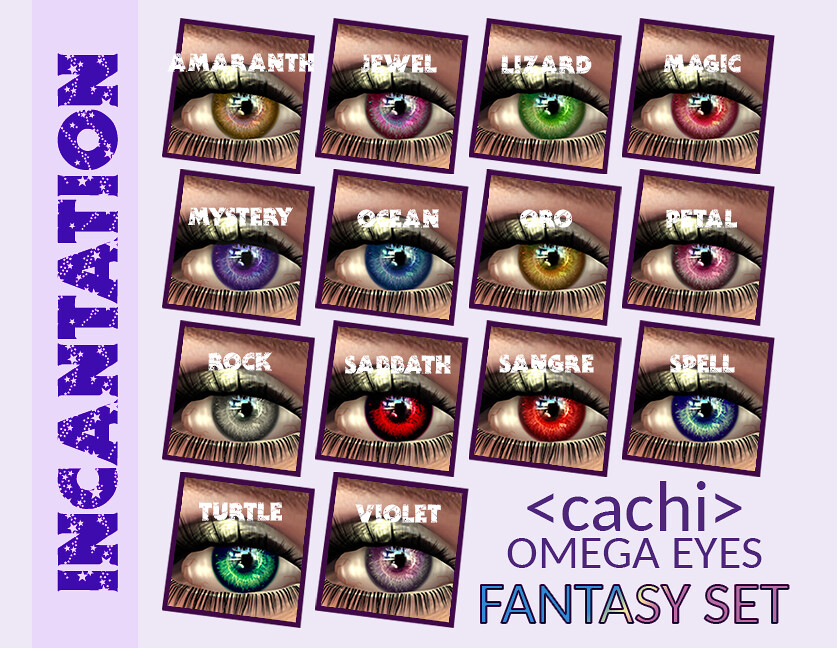 <cachi> Incantation Eyes – [Fantasy Set]
