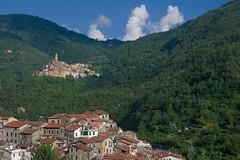 Castel Vittorio depuis Pigna