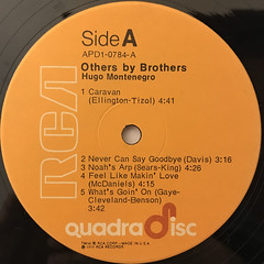 HUGO MONTENEGRO:OTHERS BY BROTHERS(LABEL SIDE-A)