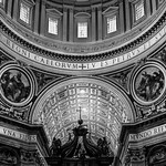 Dome and Altar Area - St peter's Basilica - Vatican City - Rome - https://www.flickr.com/people/41524845@N07/