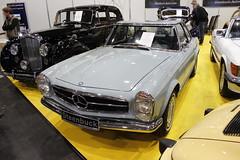 1971 Mercedes Benz 280 SL        Bremen Classic Motorshow 04.02.2017