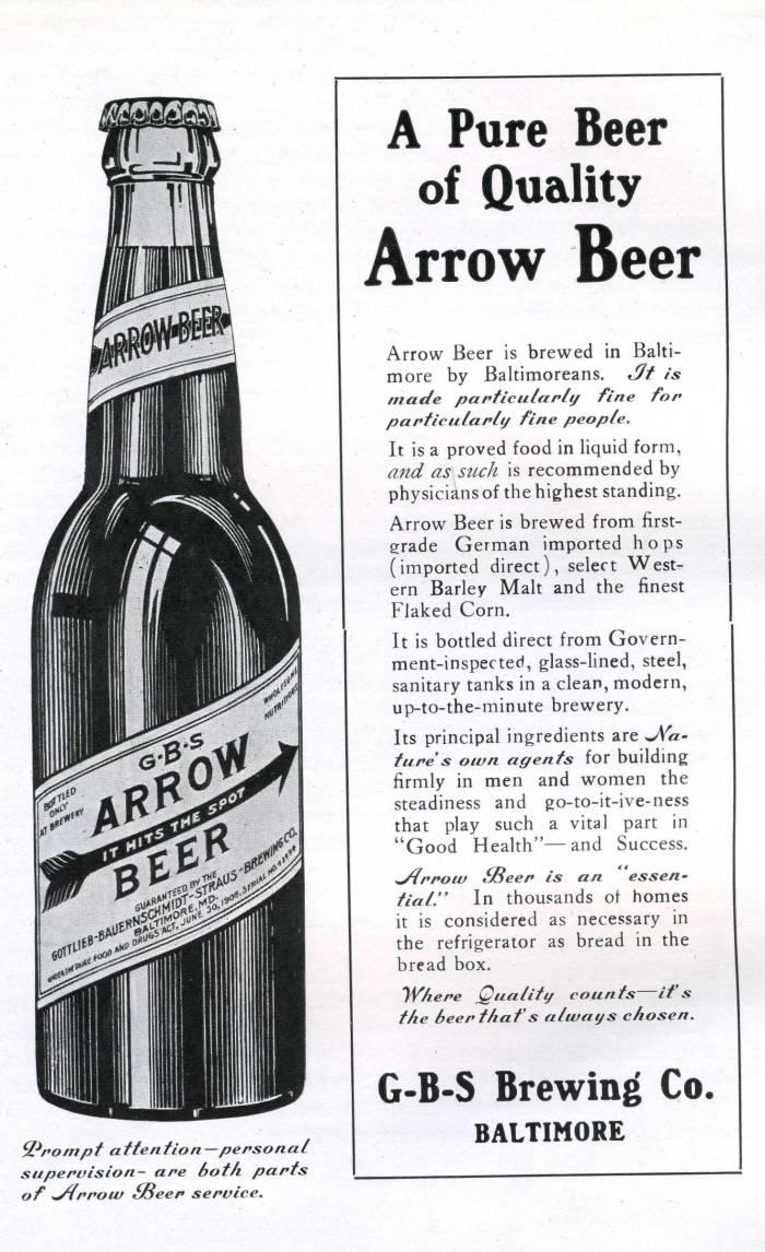 ArrowBeer1914