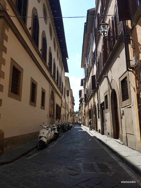 streets of Florence Italy