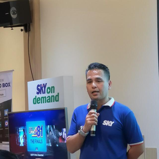 Sky on demand box launch in Davao at Lara Mia IMG_20181206_123946