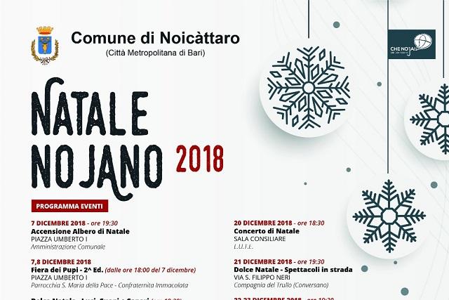 Noicattaro. manifesto front