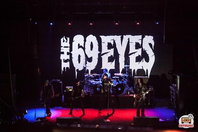 16/11/2018 The 69 Eyes + Ellison Effect @ Aurora Concert Hall