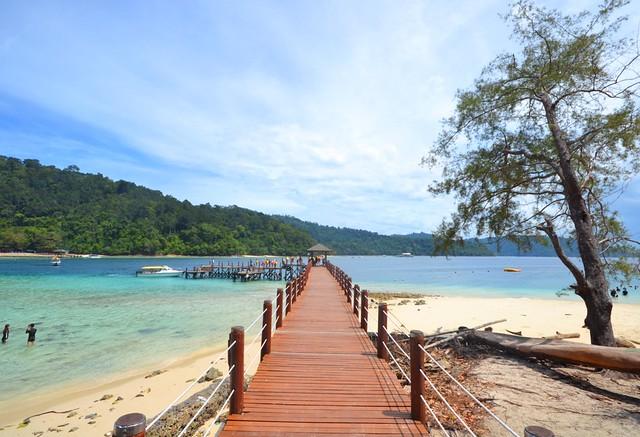 kota kinabalu brunei itinerary sapi island