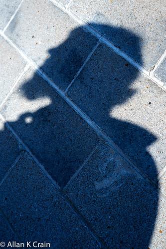 Day 106: I saw my shadow