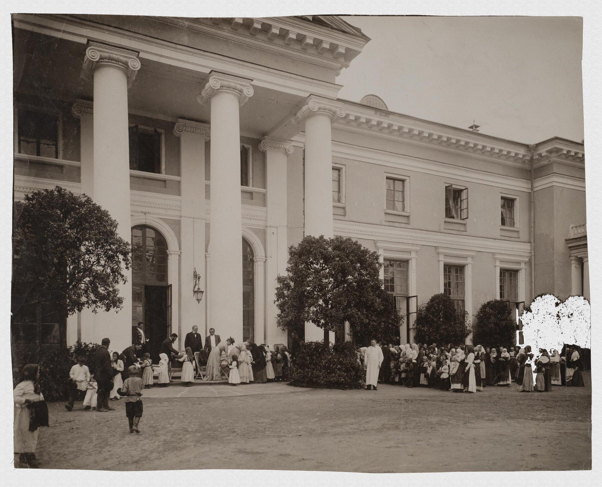 1904. Праздник в Архангельском
