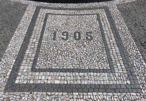 Calçada Portuguesa at Igreja da Conceição (Angra do Heroísmo, Açores)
