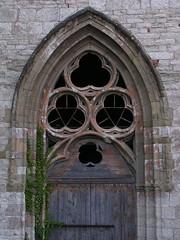 20080516 23635 0906 Jakobus Montbrison Kirche Fenster Dreifaltigkeit Bogen - Photo of Essertines-en-Châtelneuf