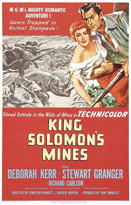 King Solomon's Mines - 1950 - Poster 2