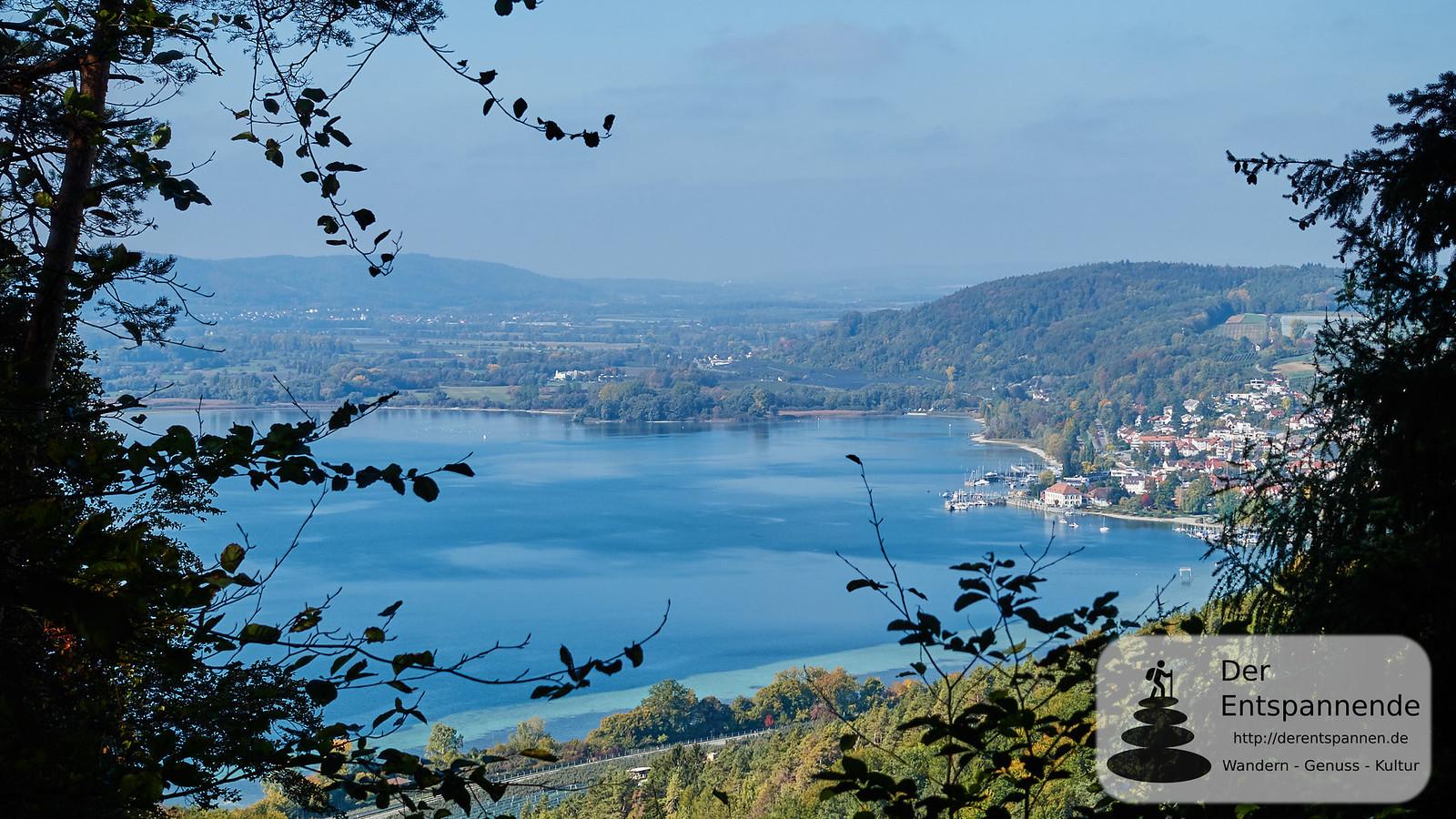 Blick vom Roßhimmel auf den Bodensee und Ludwigshafen
