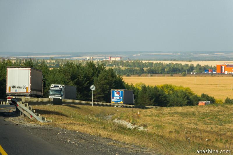 """Трасса М-5 """"Урал"""", Пензенская область"""