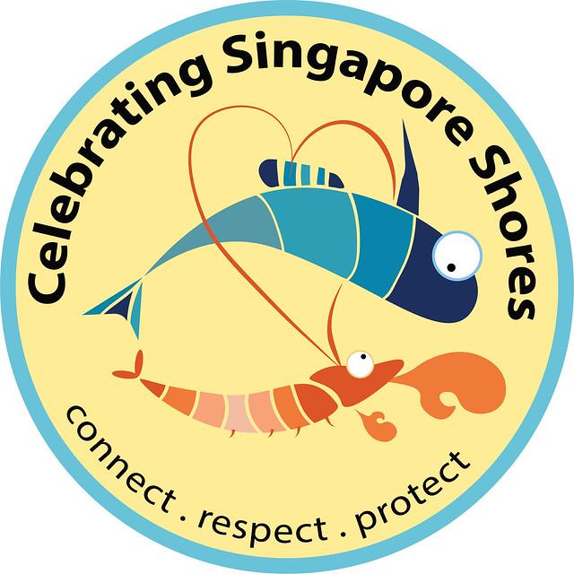 Celebrating Singapore Shores forever logo