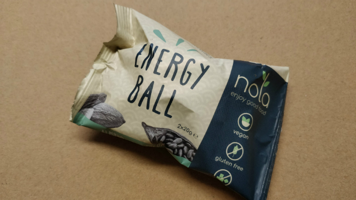Review: Nola energy balls