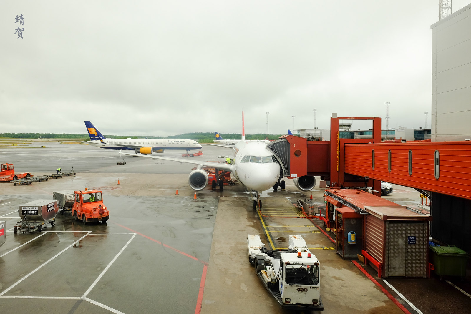 Swiss A320 and Icelandair Boeing 757