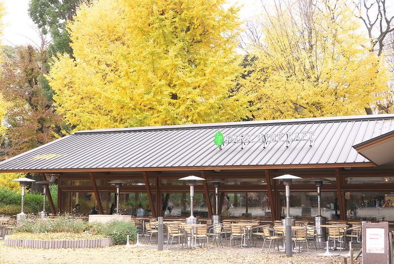 上野公園 パークサイドカフェ (PARK SIDE CAFE)