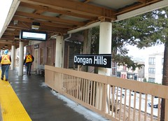 Staten Island Railway Dongan Hills Station