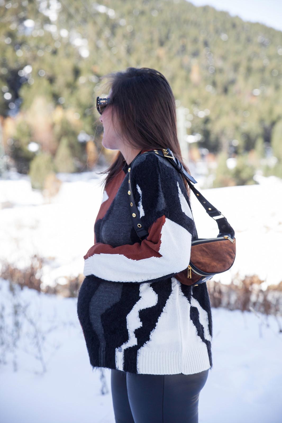 06_combinar_jersey_marron_outfit_nieve_embarazada_theguestgirl_embarazo_33semanas_pregnant_style_influencer_barcelona_nueva_colecccion_ruga_portugal