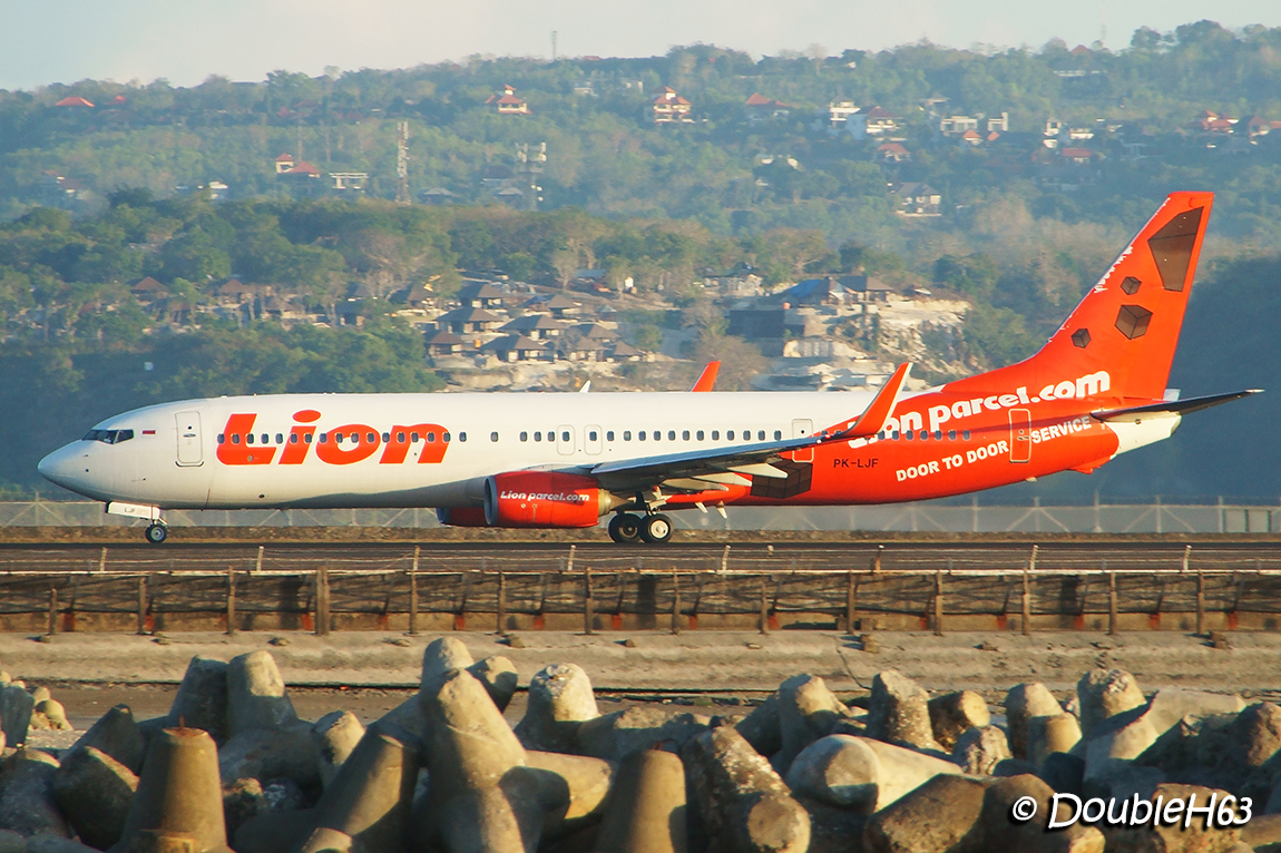 PK-LJF B738 Lion DPS