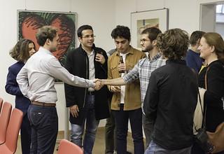 Young Entrepreneurs meeting with Ambassador Traina