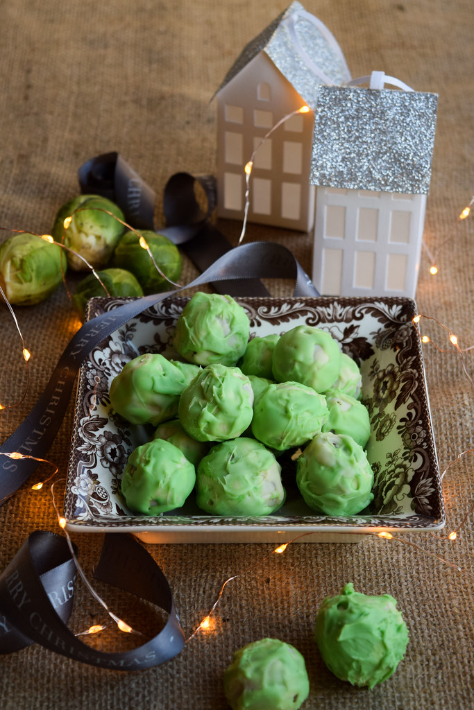 How To Make Brussels Sprout Chocolate Truffles