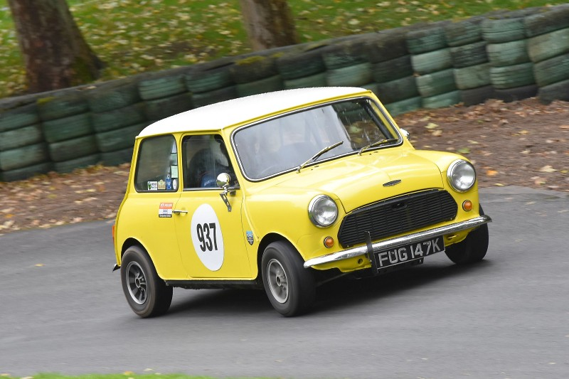 The Austin Mini of Paul Jones at Prescott (D Garnett)