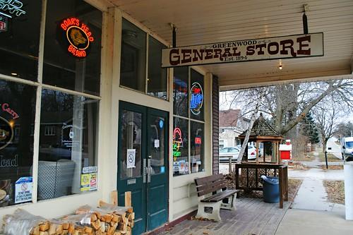 Greenwood General Store, Greenwood Illinois