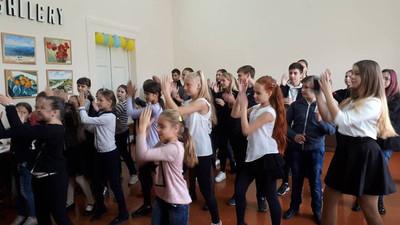 Майстер-клас від лідерів шкільного самоврядування в Миколаївській ЗОШ №31