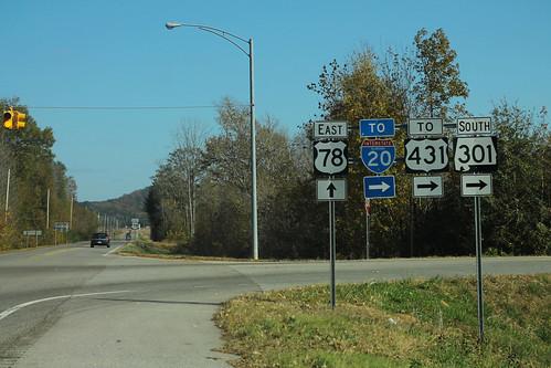 US78 East - AL301 South To I-20 US431