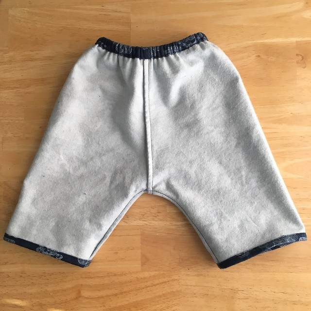 Quick and Easy Baby Gift:  Rae's Basic Baby Pant