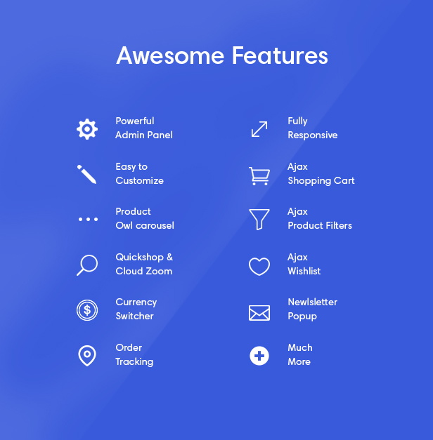 awesome features