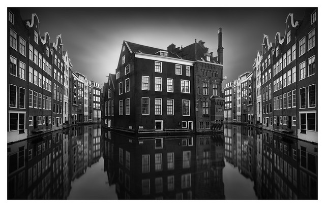 Amsterdam Canal Mirrors [On Explore]
