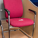 Pink meeting chair E50