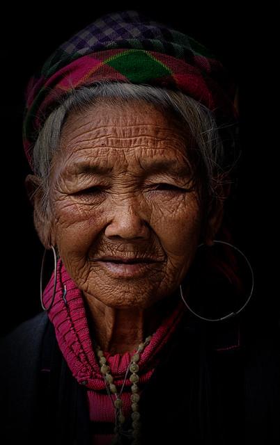 Portrait of a Hmong Lady