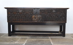 parish chest (Flemish, c1450)