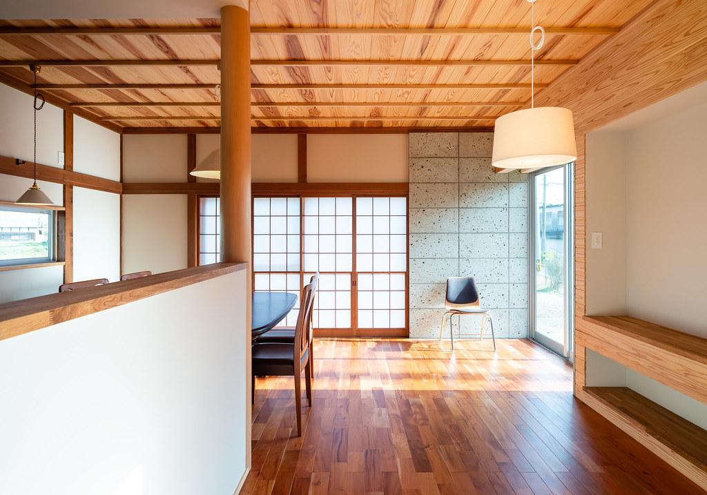 茨城県東茨城郡の家